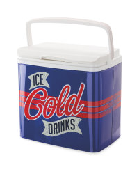 Retro Coolbox Ice Cold