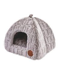 Igloo Grey Cat Bed