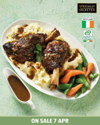 Irish Premium Lamb Shanks
