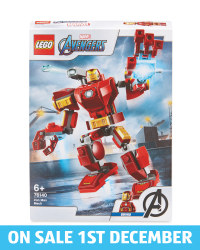 Iron Man Mech Lego Set