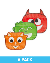 JOIE Monster Zip Seal Bags
