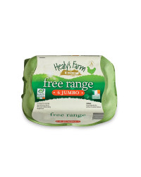 6 Jumbo Irish Free Range Eggs