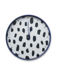 Kirkton House Blue Dot Clock