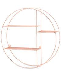 Kirkton House Circular Wire Shelf - Copper