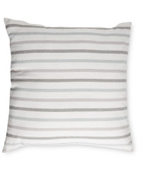 Kirkton House Grey Cotton Cushion