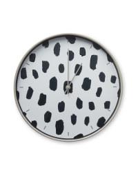 Kirkton House Grey Dot Clock