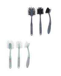 Kirkton House Kitchen Brushes 3 Pack