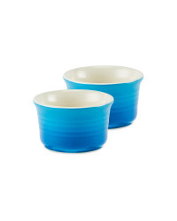 Kirkton House Mini Ramekin 2 Pack - Blue