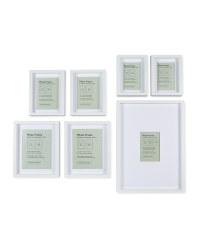 Kirkton House Multipack Frames - White