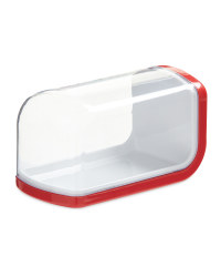 Kirkton House Red Butter Dish