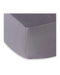 Kirkton House Superking Fitted Sheet - Grey