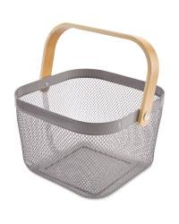 Kitchen Storage Baskets - Grey
