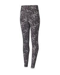 Ladies' Marble Print Yoga Leggings