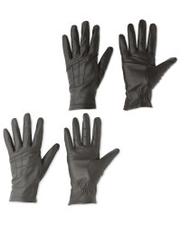 Ladies' 3 Point Leather Gloves
