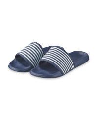 Ladies' Blue Sliders