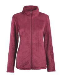 Ladies' Red Fleece Midlayer