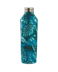 Large Palm Leaf Insulated Bottle