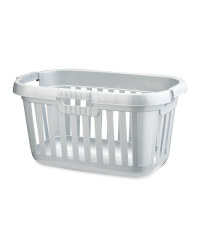 Laundry Basket - Silver