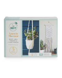 So Crafty Learn to Macrame Craft Kit