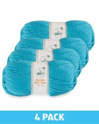 Light Teal Double Knit Yarn