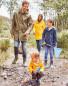 Lily & Dan Kids' Navy Raincoat