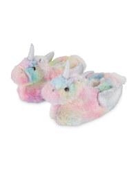Lily & Dan Unicorn Slippers