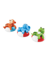 Nuby Loungers Bath Toys 3 Pack