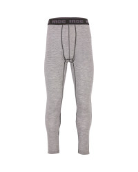 Men's Grey Base Layer Bottoms