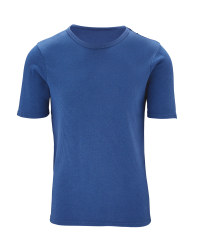 Men's Thermal T-Shirt - Blue