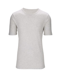 Men's Thermal T-Shirt - Grey