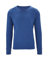 Men's Thermal Top - Blue
