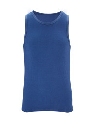 Men's Thermal Vest - Blue
