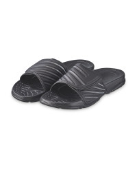 Avenue Men's Sliders - Black