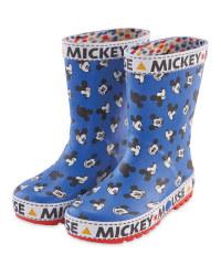 Lily & Dan Disney Mickey Wellies