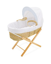 Elephant Moses Basket With Stand