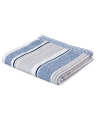 Multi Stripe Cotton Hand Towel