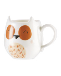 Kirkton House Owl 3D Animal Mug