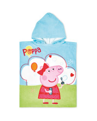 Peppa Pig Hooded Poncho Towel