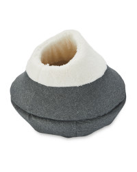 Pet Collection Grey Cat Ball Bed