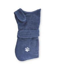 Pet Collection Navy Towel & Coat