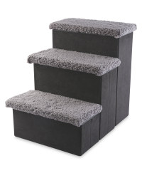 Pet Collection Plush Pet Stairs