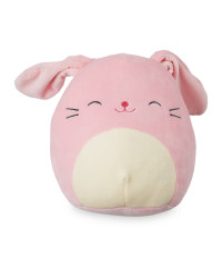 Pink Bunny Easter Squishmallow