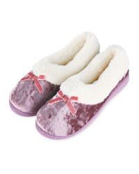 Pink Ladies Slippers