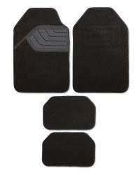 Premium Carpet Car Mats 4 Pack