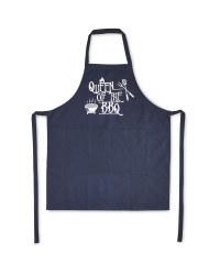 Queen Design BBQ Apron