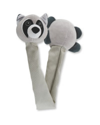 Raccoon Long Neck Dog Toy