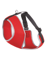 Red Pet Collection Mesh Pet Harness
