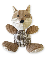 Rope Ball Fox Dog Toy