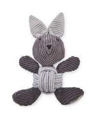 Rope Ball Rabbit Dog Toy