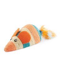 Scratch & Play Coral Mouse Cat Toy